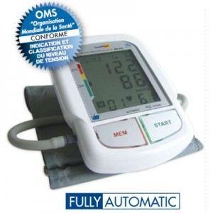 Visiomed TensioFlash KD 595 - Autotensiomètre automatique parlant à bras