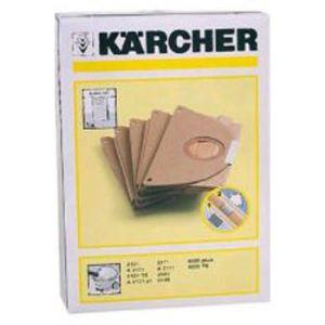 Kärcher 6.904-167.0 - 5 sacs en papier pour aspirateurs