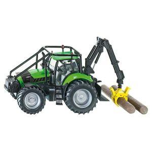Siku 3657 - Tracteur Deutz forestier X720 - Echelle 1:32