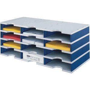Styro 2680304 - Bloc de classement Styrodoc de 12 compartiments