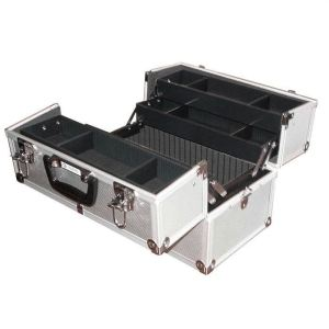 Valise aluminium 360x220x250mm avec 2 clés