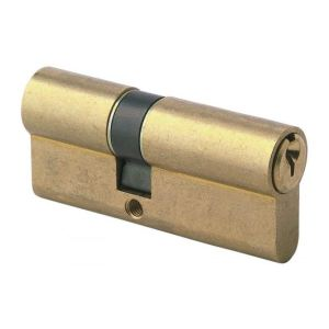 Tesa 50303545N - Cylindre de serrure TE5 80mm (35+45) nickele
