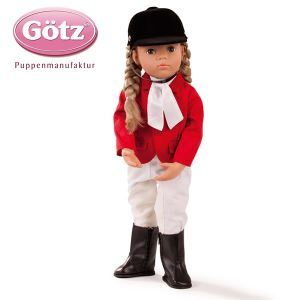 Gotz Poupée Anna cavalière (50 cm)