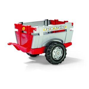 Rolly Toys Remorque de tracteur avec réhausses