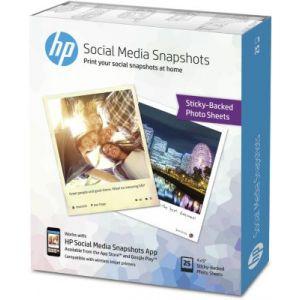 HP W2G60A - Social Media Snapshots 10x13 25 Blatt 265 g