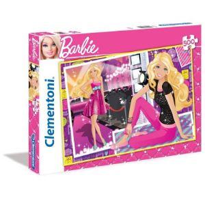 Clementoni Puzzle Barbie sur le tapis rouge 500 pièces