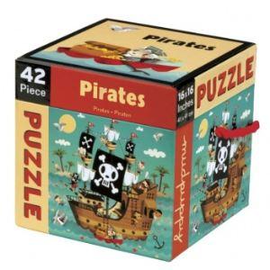 Janod Puzzle valisette: Les pirates 36 pièces