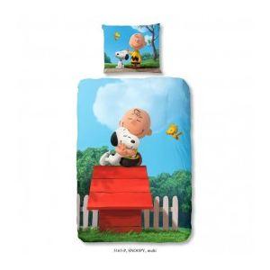 Ogo Parure de couette Snoopy Hug 3D (140 x 200 cm)