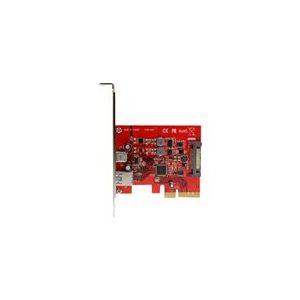 StarTech.com PEXUSB311A1C - Carte contrôleur PCI Express à 2 ports USB 3.1 (10 Gb/s)