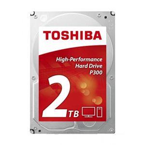 "Toshiba HDWD120EZSTA - Disque dur interne P300 2 To 2.5"" SATA III 7200 rpm"
