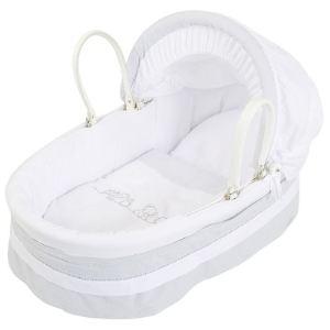 couffin bebe osier blanc comparer 33 offres. Black Bedroom Furniture Sets. Home Design Ideas