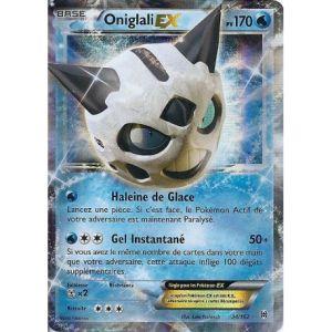 Asmodée Oniglali - Carte Pokemon 34/162 Ex Rare