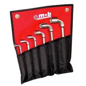 Mob 9015006001 - Trousse de 6 clés à pipe 6x6