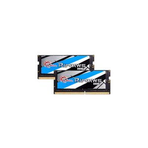 G.Skill F4-2400C16D-16GRS - Barrette mémoire RipJaws Series SO-DIMM 16 Go (2 x 8 Go) DDR4 2400 MHz CL16