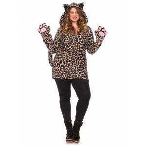 Déguisement léopard femme grande