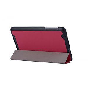 Mondpalast TL-AC-B1-810-L - Etui en PU cuir Rose pour Acer Iconia One 8 B1-810