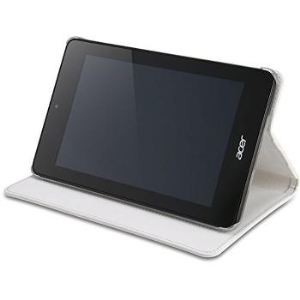 Acer B1-73X - Etui à rabat blanc pour Acer Iconia B1-730