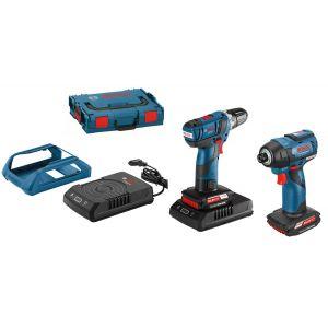 Bosch Professional 06019E0004 - Pack 2 machines GSR 10,8V-EC + GDR 10,8V-EC à induction