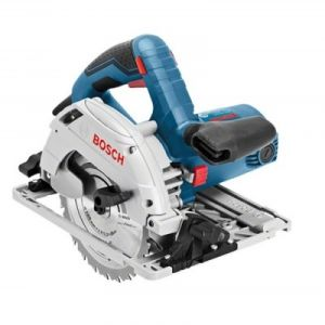 Bosch Professional GKS 55+G + FSN1600 L-BOXX (0601682002) - Scie circulaire 165mm 1200W