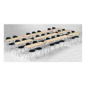 Table de formation pliante (40 x 200 cm)
