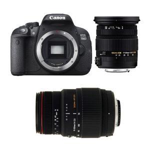 Canon EOS 700D (avec 2 objectifs Sigma 17-50mm et Sigma 70-300mm)