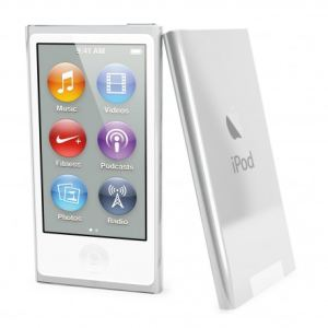 Muvit MUCRY0015 - Coque Customline Crystal avec film de protection pour iPod Nano 7