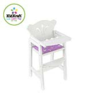 KidKraft 61101 - Chaise haute petite poupée