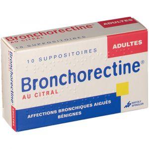 Mayoly Spindler Bonchorectine Adultes - 10 Suppositoires