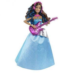 Mattel Erika Rockstar avec sa guitare Barbie