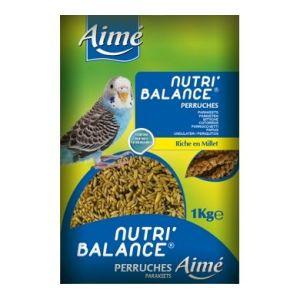 Aimé Nutri'balance - Mélange de graines pour perruches 1 kg