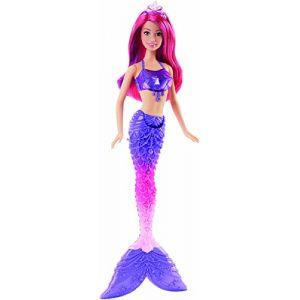 Mattel Barbie Sirène bijoux multicolore