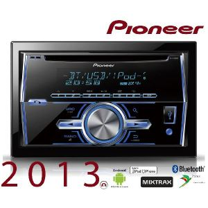 Pioneer FH-X700BT - Autoradio CD/MP3 double din avec port USB et fonction Bluetooth (4 x 50 Watts)