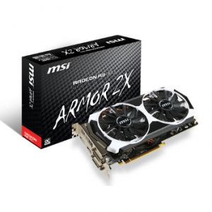 MSI R9 380 2GD5T OC - Carte graphique Radeon R9 380 2 Go GDDR5 PCI-E 3.0