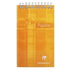 Clairefontaine 8642C - Bloc Metric Pupitre 80 feuilles quadrillé 5x5 (105x170 mm)