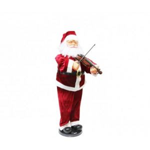 Fomax Père Noël automate avec violon