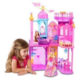 Mattel Château de princesse Barbie et la porte secrète