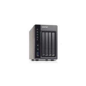 "Qnap TS-453S Pro - Serveur NAS 4 baies 2.5"" Ethernet x2"