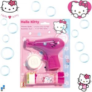 Potentier Pistolet à bulles Hello Kitty
