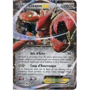 Asmodée Cizayox - Carte Pokemon Ex rare