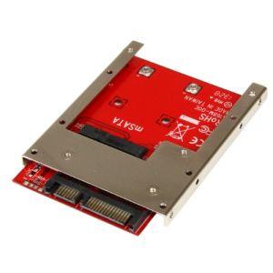 """StarTech.com SAT32MSAT257 - Adaptateur mSATA SSD vers SATA 2,5"""""""