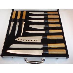 Pradel KN2009-11 - Valise de 11 Couteaux