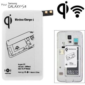Yonis Y-rsfi1 - Récepteur de chargement QI sans fil patch pour Samsung Galaxy S5