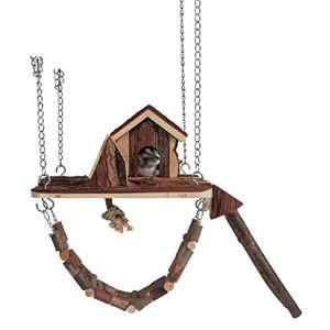 Trixie Maison suspendue en bois Janne pour rongeur (26 x 22 cm)