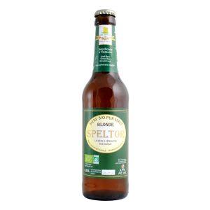 Moulin des moines Bière Blonde Speltor BIO 33cl