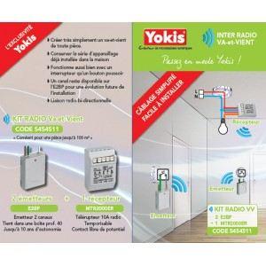 Yokis KITRADIOVV - Kit radio Va-et-Vient