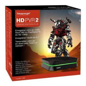 Hauppauge HD PVR 2 Gaming Edition Plus - Boîtier d'acquisition vidéo matérielle USB 2.0/HDMI pour Xbox 360 / PS3