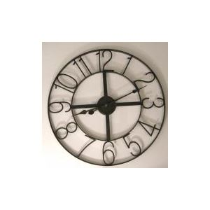 70 offres grande horloge metal comparaison achat en ligne. Black Bedroom Furniture Sets. Home Design Ideas