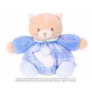 Kaloo Doudou Blue - P'tit chaton 18 cm