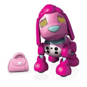 Spin Master Zoomer Chien Robot Zuppies Love Glam
