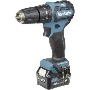 Makita HP332DSMJ - Perceuse visseuse à percussion 10,8V Li-Ion 4Ah CXT diam.10 mm